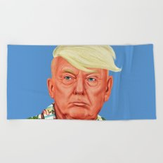 Hipstory -  Donald Trump Beach Towel