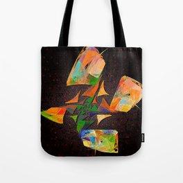 Flutter - squared Tote Bag