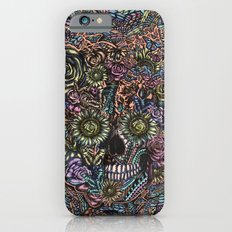 Sensory Overload Skull in Pastels iPhone 6s Slim Case