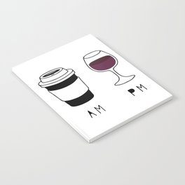Coffee and Wine Notebook