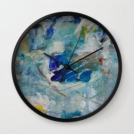 Chagall's Koi Wall Clock