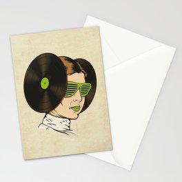 Princess L. was a DJ Stationery Cards