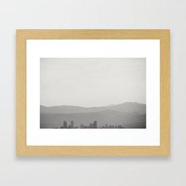 D e n v e r ,   C o   Framed Art Print