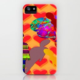 Answer meets questions ... iPhone Case