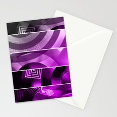 Color Technic (Five Panels Series) Stationery Cards