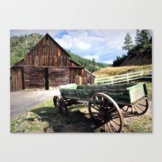 Western Nostalgia Canvas Print
