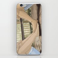 feet iPhone & iPod Skins featuring Feet by wreckthisjessy