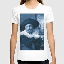 "Frans Hals ""Portrait of Isaac Abrahamsz"" edited T-shirt"