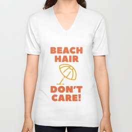 Beach Hair Unisex V-Neck