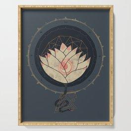 Lotus Serving Tray