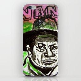 Sucio mal vestido iPhone Skin