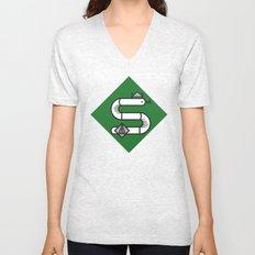 Slytherin House Crest Unisex V-Neck