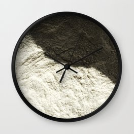 Flour Wall Clock