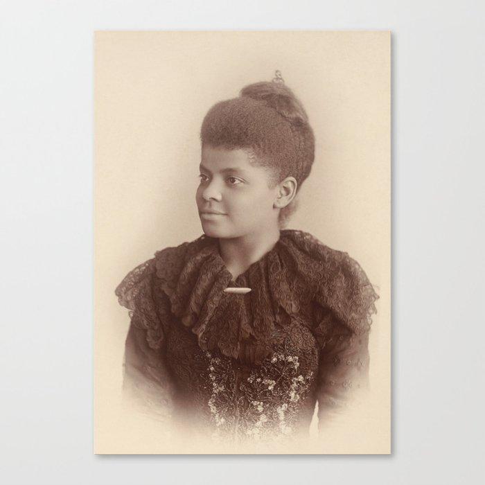 Ida B. Wells 1893 Leinwanddruck