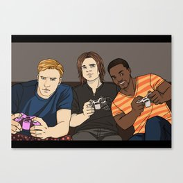 -Steve, Bucky and Sam- Canvas Print