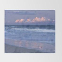 Beach Sunset Throw Blanket