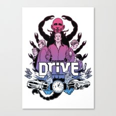 Drive front cover Canvas Print
