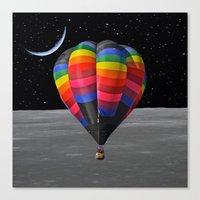 balloon Canvas Prints featuring Balloon by Cs025