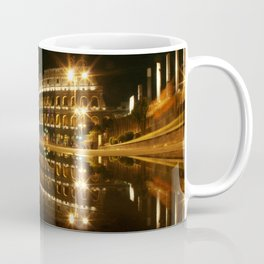 Colosseum reflection at night Coffee Mug