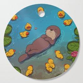 Otter Cutting Board