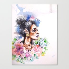beautiful sister Canvas Print
