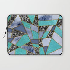 Abstract #457 Marble Shards Laptop Sleeve
