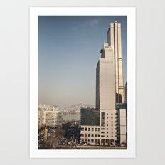 River Tower - Yeouido - Seoul Art Print
