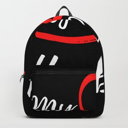 My New Husband - Just Married Backpack