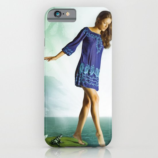 The Lili & The Frog iPhone & iPod Case