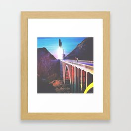 On Our Way Home Framed Art Print