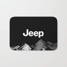 Jeep 'Black Mountain' Bath Mat