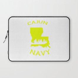 Cajun Navy Shirt Laptop Sleeve