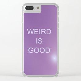 The OA - Weird is good Clear iPhone Case