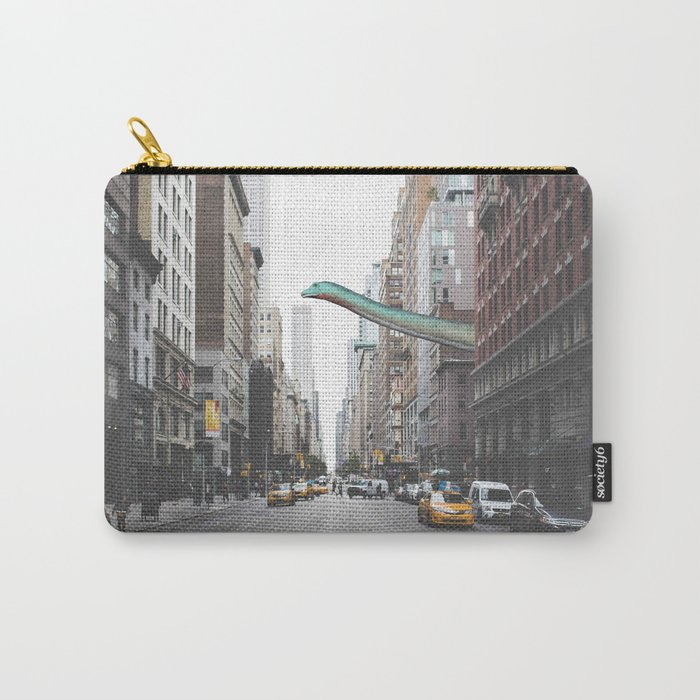 Diplodocus in Chicago Carry-All Pouch