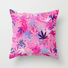 Marijuana Cannabis Weed Pot Throw Pillow