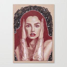 Gal Gadot Canvas Print