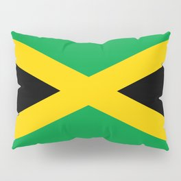 Flag of Jamaica - Jamaican flag Pillow Sham