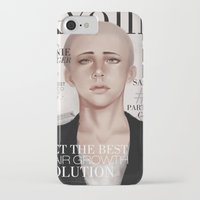 snk iPhone & iPod Cases featuring SnK Magazine: Connie by putemphasis