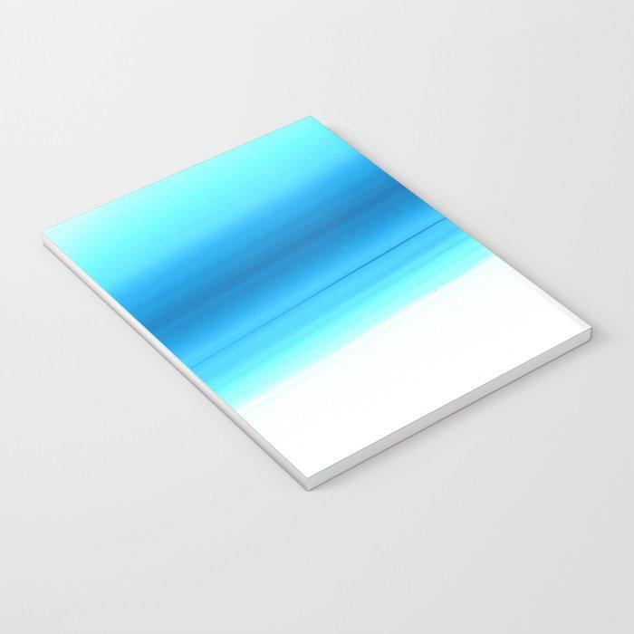 Turquoise Aqua Ombre Notebook