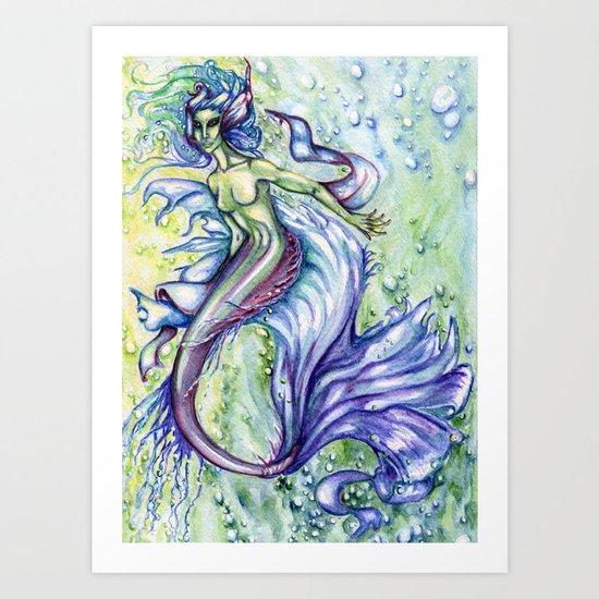Fathoms Below Art Print