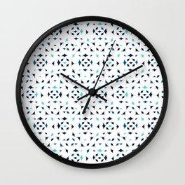 Mobula Rays Pattern Wall Clock