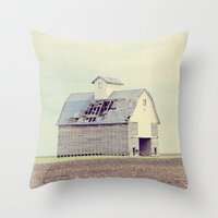 american beauty Throw Pillows featuring American Beauty Vol 15 by Farmhouse Chic