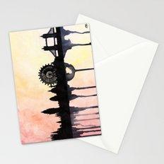 London Watercolour Skyline Stationery Cards