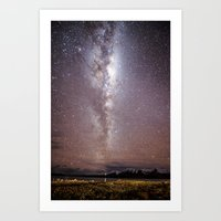 milky way Art Prints featuring Milky Way by ©valourine