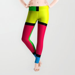 Lack of Talent Abstract #4 Leggings