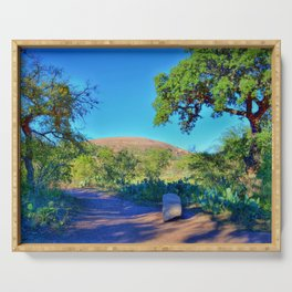 Enchanted Rock State Natural Area Serving Tray