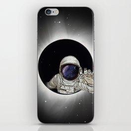 Black Hole Astronaut iPhone Skin