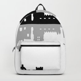 lisbon skyline Backpack