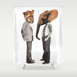 sup bro Shower Curtain