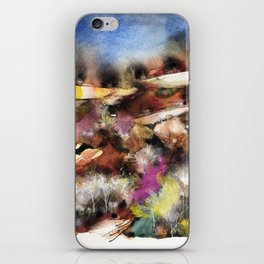 Abstract Tuscan Landscape iPhone Skin